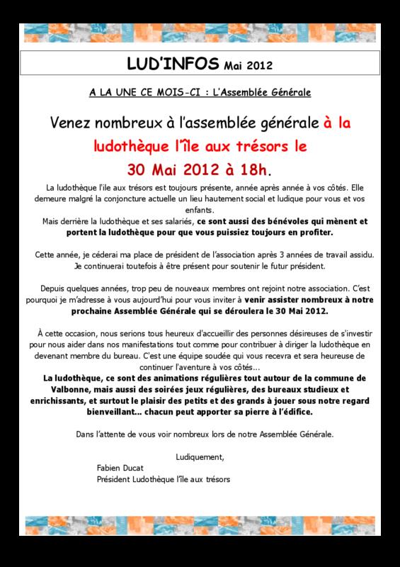 newsletter  05_2012