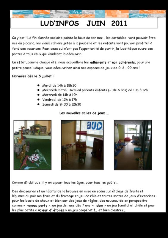 newsletter 0611